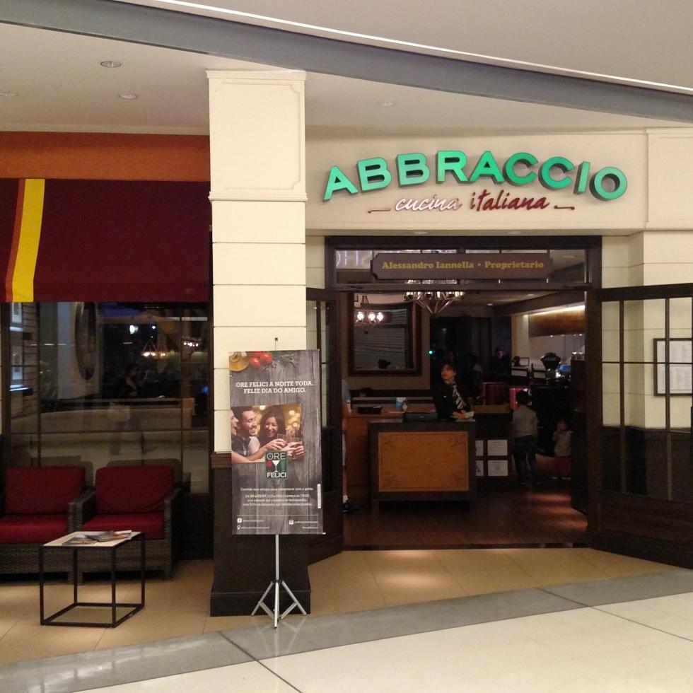 Restaurante Abbraccio em São Paulo - SP.